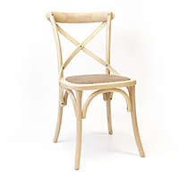 Silla de estilo Thonet en color peral modelo MANOSQUE