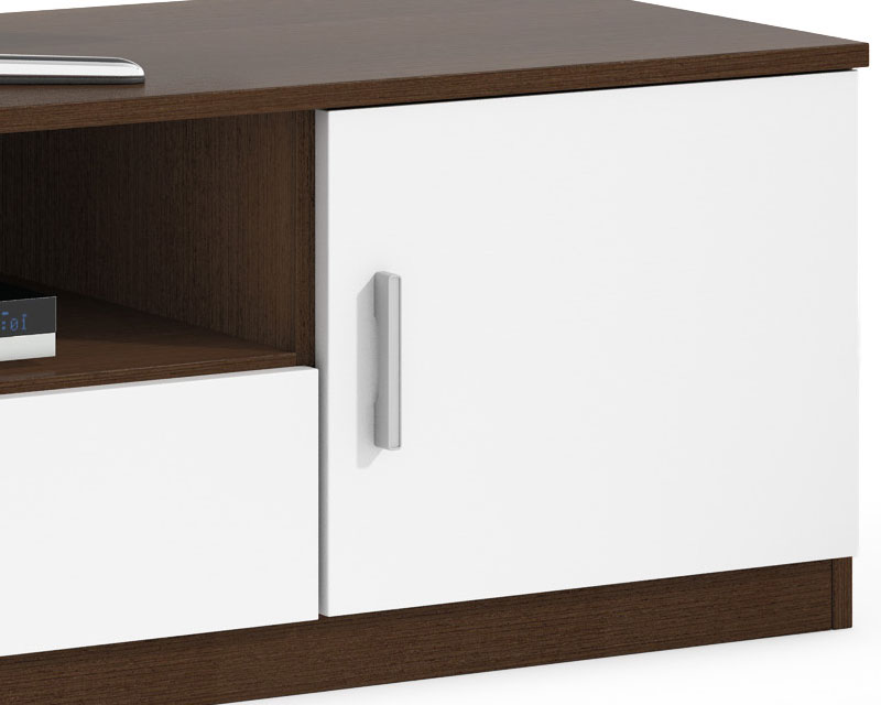Muebles blanco y wengue 20170826160809 for Mueble para tv blanco