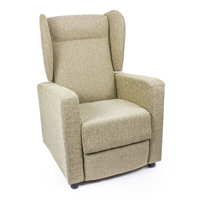 Butaca Reclinable en color beige modelo TORINO